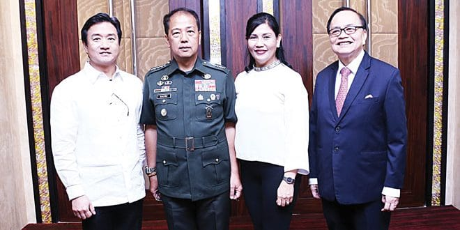 Alfred Ty at 2007 Metrobank Foundation outstanding Filipino is new AFP chief