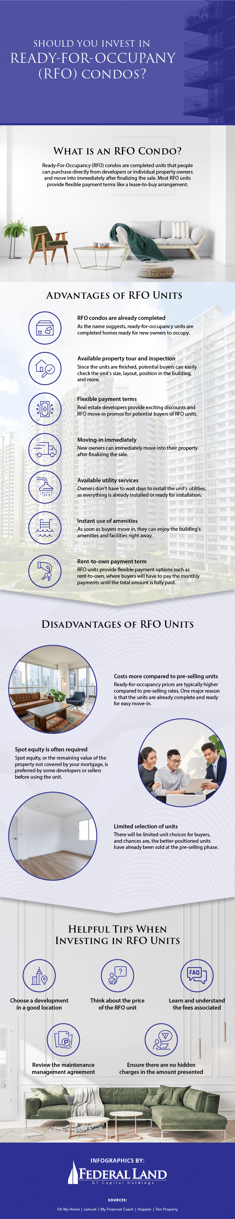 Should You Invest in Ready-For-Occupancy (RFO) Condos Infographic